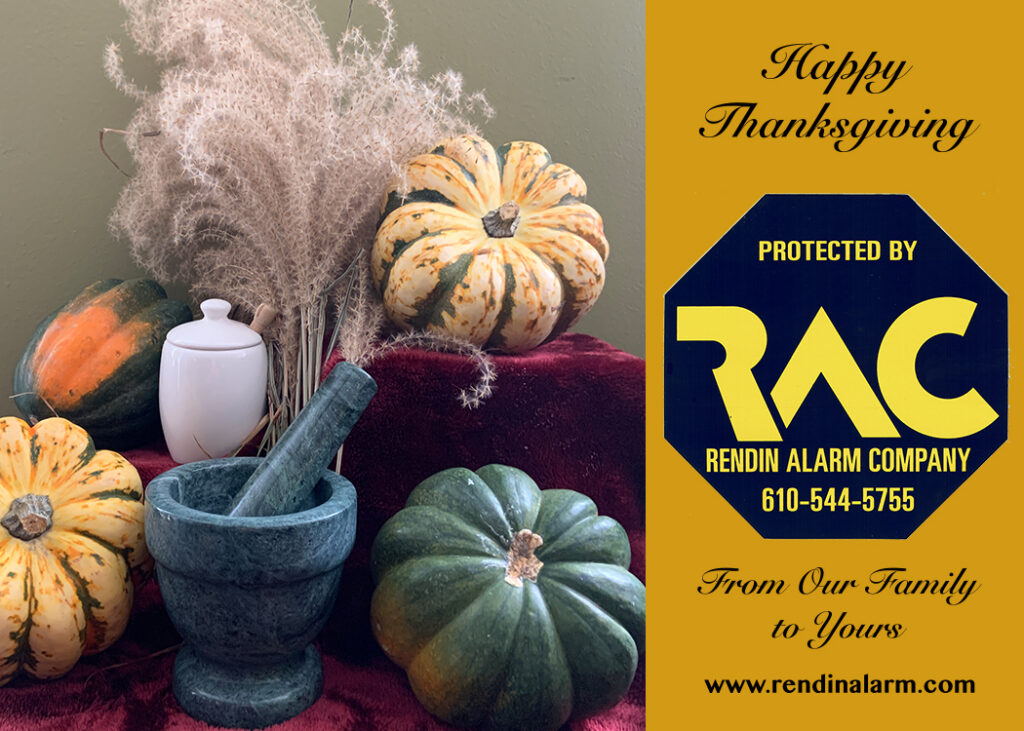 Thanksgiving, Thankful, Alarm Systems, Home Security, Holidays, What are you thankful for?
