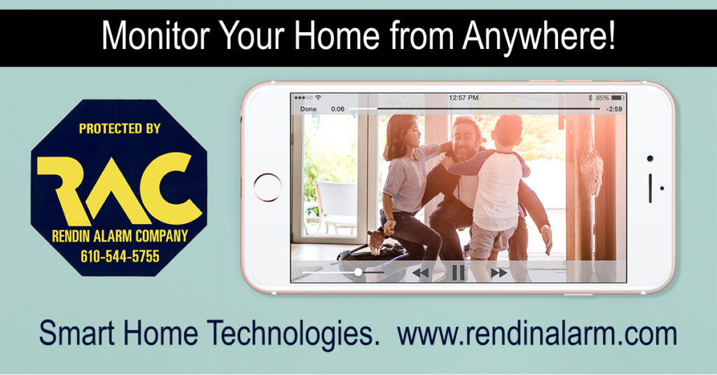 Video Monitoring, Smart homes, alarm systems, Morton PA