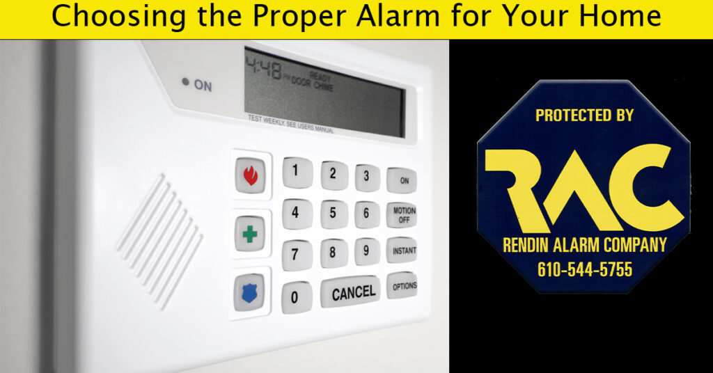 Choosing an alarm system, alarm systems, smart homes