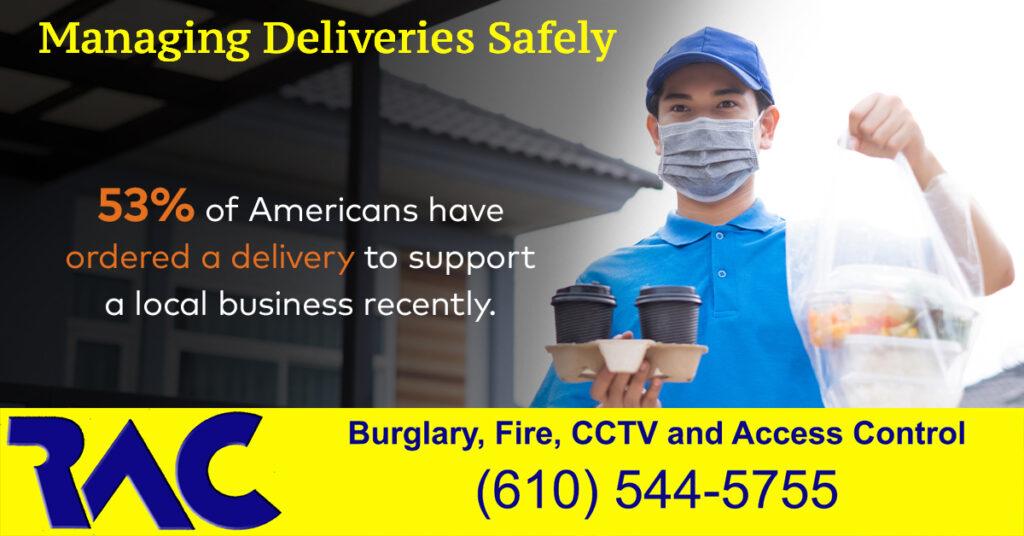 managing Deliveries Safely, Rendin Alarm, Alarm Systems Delco