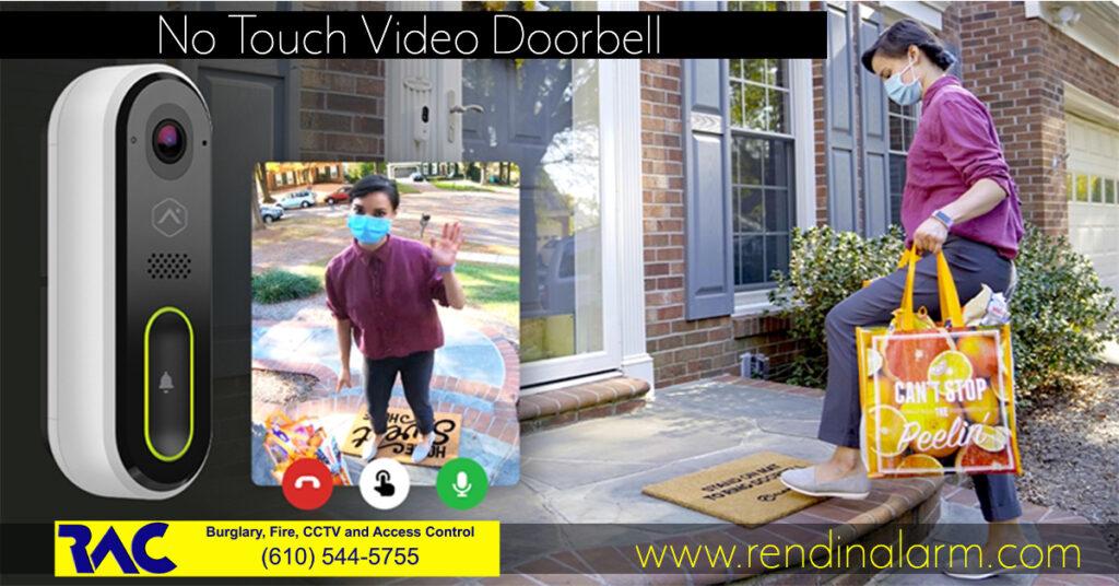 No Touch doorbell, touchless video doorbell