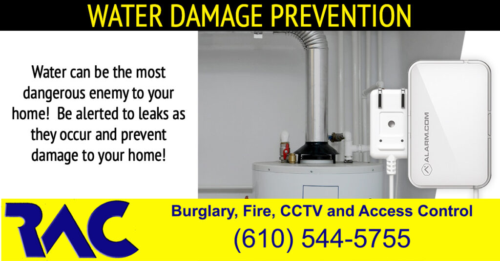 Water Damage Prevention, Alarm Companies Near Me, Alarm Systems, smart home technology
