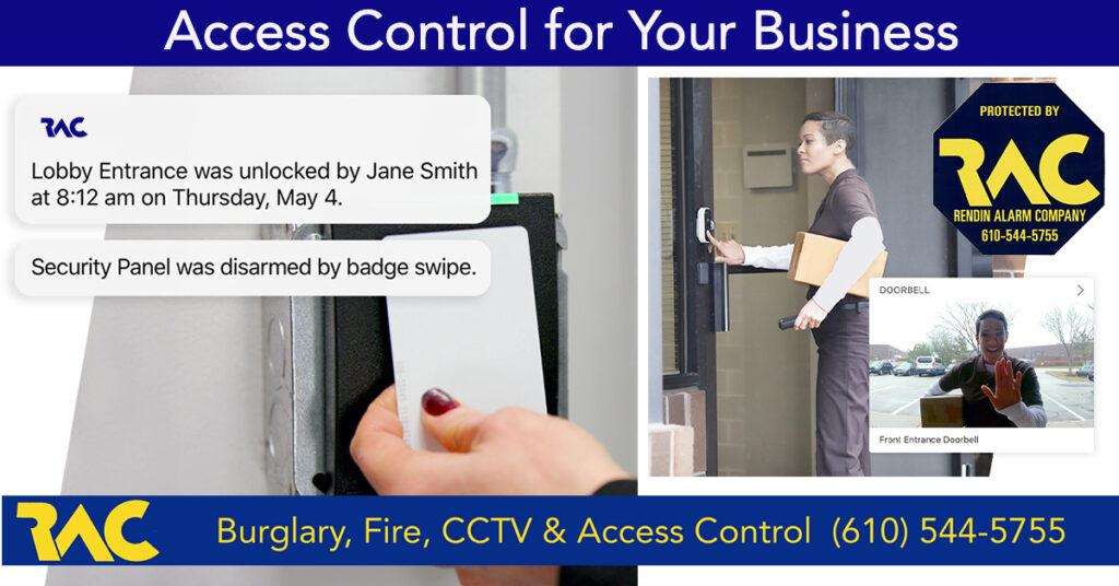 Access Control for Business, Alarm Systems, Alarm Company Morton PA