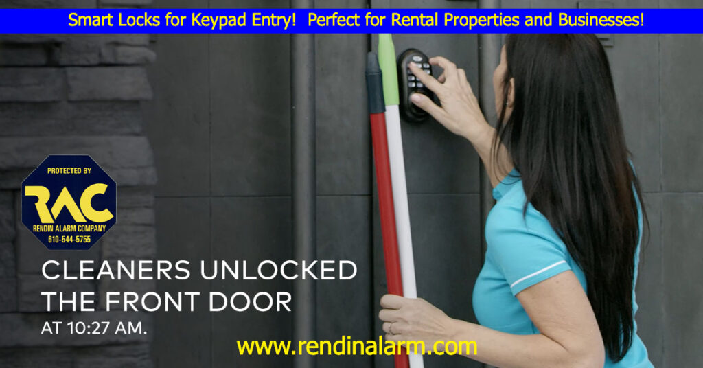 Keypad Entry, Alarm systems, alarm companies near me, delco alarms